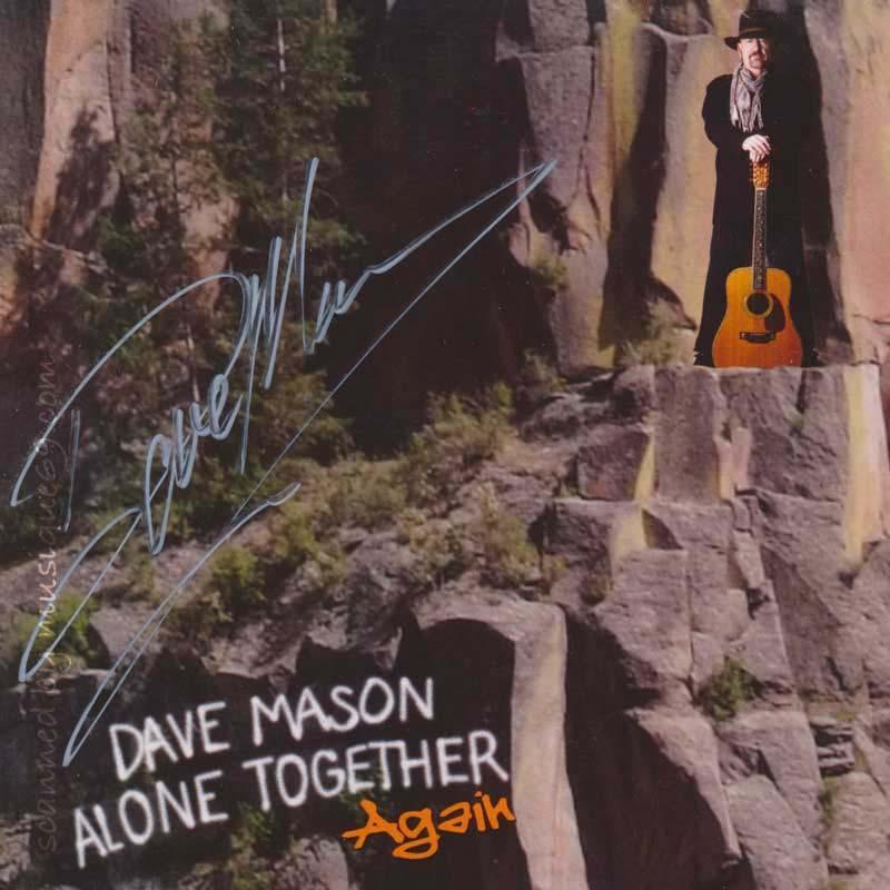 デイヴメイスン Dave Mason - Alone Together Again: Exclusive Autographed Edition (CD) musique69