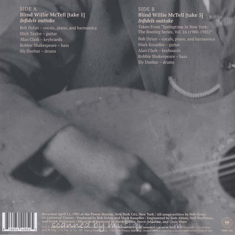 ボブディラン Bob Dylan - Blind Willie McTell: Limited Edition (vinyl)|musique69|02