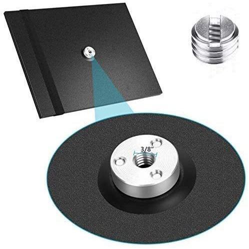 プロジェクタートレイ 三脚スタンドテーブル台 プロジェクター台座 プロジェクター、ノートパソコンなどを適合 (ブラック)|musubi-syop|02