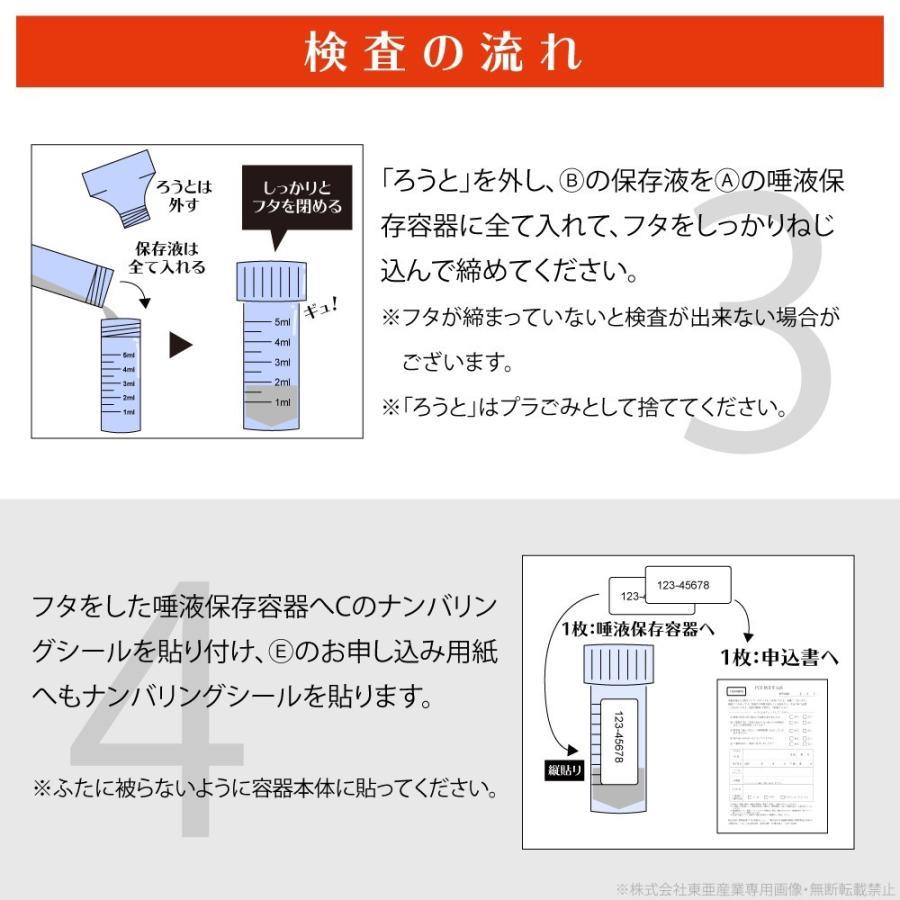 新型コロナウイルス PCR検査 唾液採取用検査キット|my-style|04
