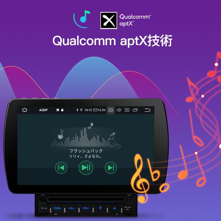 (TQ100SI) カーナビ 2DIN XTRONS Android10.0 カーオーディオ 10インチ フルセグ 地デジ搭載 6コア HDMI出力 4GB+64GB Bluetooth OBD2 4G WIFI ミラーリング DVR|mycarlife-jp|10