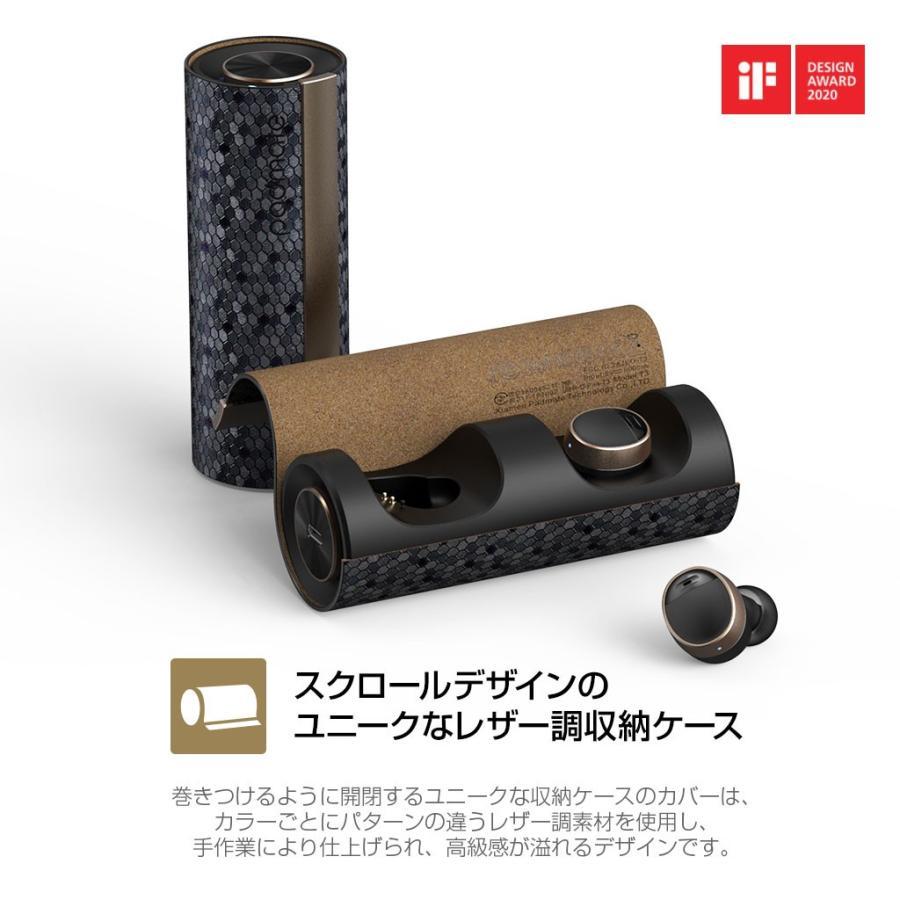 ブルートゥース イヤホン 完全ワイヤレスイヤホン PaMuScroll Plus +ワイヤレス充電レシーバー(パムスクロール)Padmate Bluetooth ワイヤレスイヤホン|mycaseshop|16