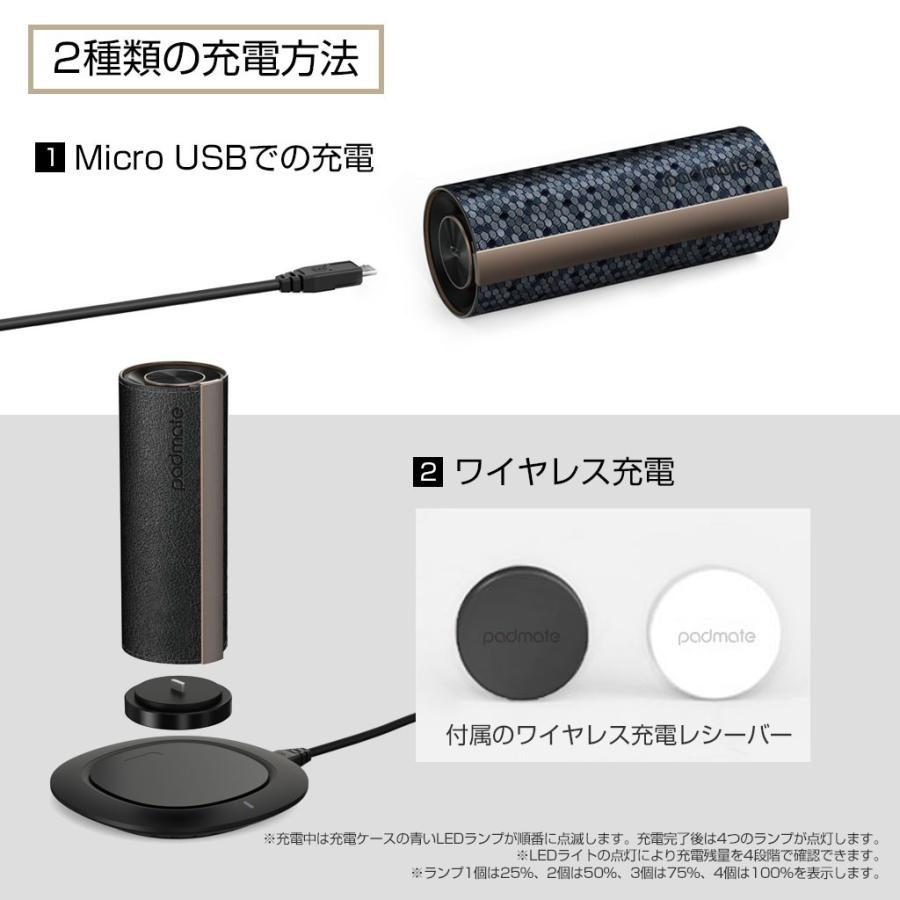 ブルートゥース イヤホン 完全ワイヤレスイヤホン PaMuScroll Plus +ワイヤレス充電レシーバー(パムスクロール)Padmate Bluetooth ワイヤレスイヤホン|mycaseshop|19
