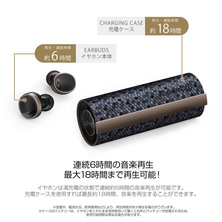 ブルートゥース イヤホン 完全ワイヤレスイヤホン PaMuScroll Plus +ワイヤレス充電レシーバー(パムスクロール)Padmate Bluetooth ワイヤレスイヤホン|mycaseshop|10