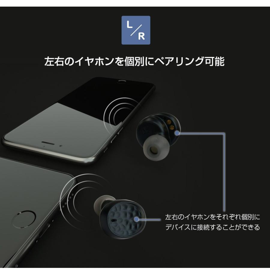 Qualcommチップ搭載 完全ワイヤレスイヤホン Tempo T5 Plus(パッドメイト テンポティファイヴ プラス)高音質コーデックaptX IPX6 防水 テレワーク 在宅勤務|mycaseshop|15
