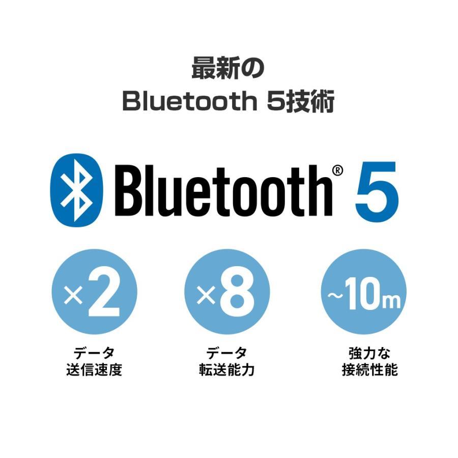 Padmate 完全ワイヤレスイヤホン Pamu Slide (パムスライド) Qualcomm社のQCC3020搭載 10時間再生 IPX6防水 スポーツに最適 Bluetooth 5.0 AAC aptX|mycaseshop|10