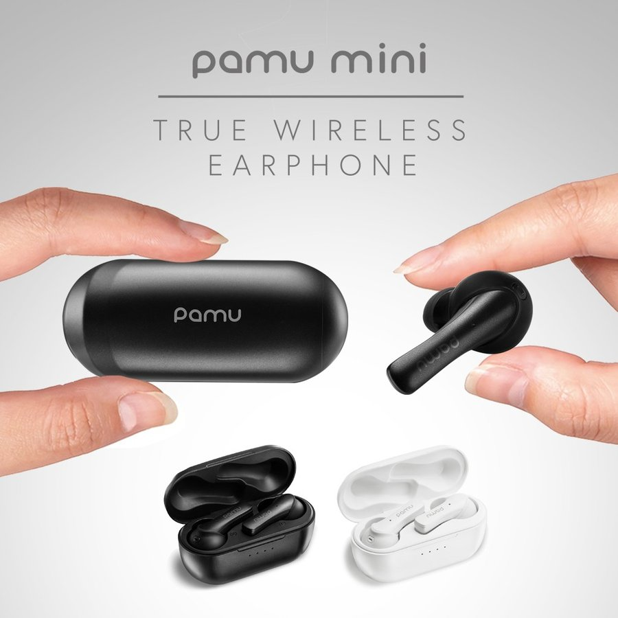 Padmate 完全 ワイヤレスイヤホン Pamu Mini (パムミニ) Qualcomm 10時間再生 IPX6防水 耳から落ちない設計 スポーツに最適 Bluetooth 5.0 AAC aptX|mycaseshop|02