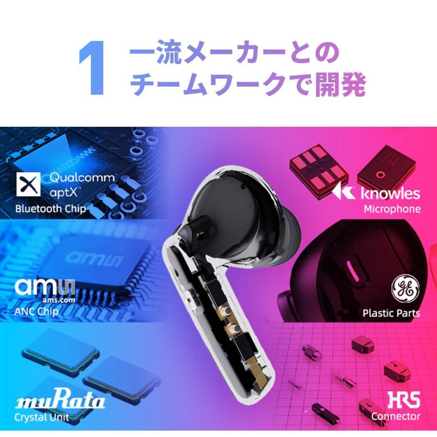 Padmate ノイズキャンセリング 完全ワイヤレスイヤホン PaMu Quiet [ Bluetooth 5.0 IPX4防水 cVc8.0 aptX AAC 対応 ] PM20297 mycaseshop 06