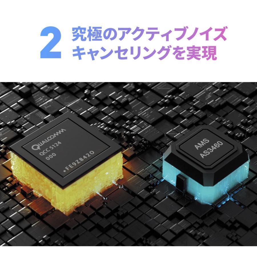 Padmate ノイズキャンセリング 完全ワイヤレスイヤホン PaMu Quiet [ Bluetooth 5.0 IPX4防水 cVc8.0 aptX AAC 対応 ] PM20297 mycaseshop 07