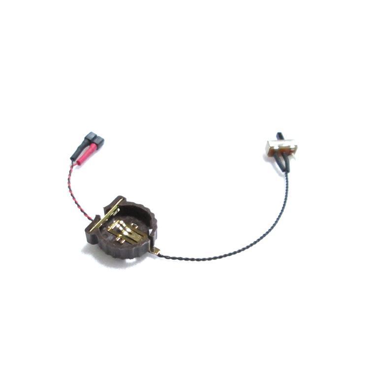 ボタン電池ケース 【CR1220用 スイッチ付】|mycraft