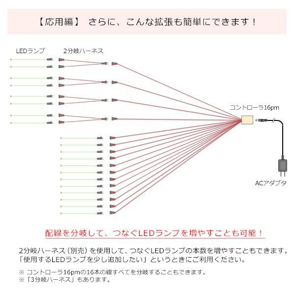 コントローラ16Pm 【常時点灯16本用】|mycraft|05