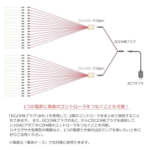 コントローラ16Pm 【常時点灯16本用】|mycraft|06