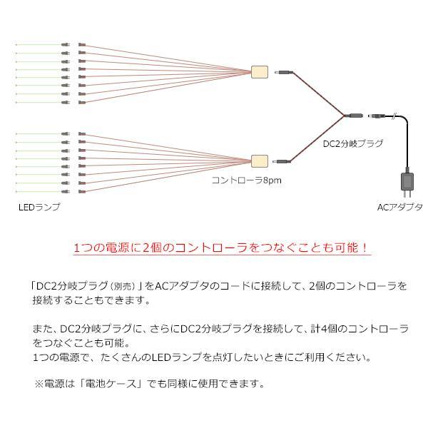 コントローラ8Pm 【常時点灯8本用】|mycraft|06