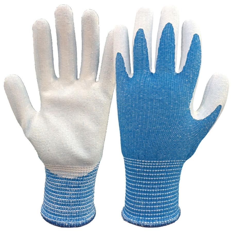 アトム 10Gツヌーガ手袋 ニトリルコートブルー HG-182-L ブルー 10双