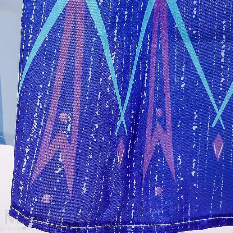 アナと雪の女王2 エルサ風ドレス アナ雪2 アナ エルサ 子供 キッズ コスプレ 衣装 仮装 4点セット コスチューム ドレス ワンピース|mylight|08