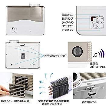 LCD LED高輝度5000ルーメンホームシアタープロジェクター1080PフルHD対応 高画質1280*800解像度液晶プロジェクター家庭用