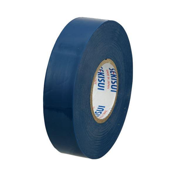 (まとめ)セキスイ ビニールテープ V360A02 19mm×20m 青〔×200セット〕