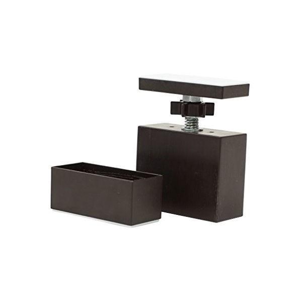 在庫限り LABRICO DIY収納パーツ 2×4アジャスター ブロンズ DXB-1 ラブリコ 平安伸銅工業|n-kitchen