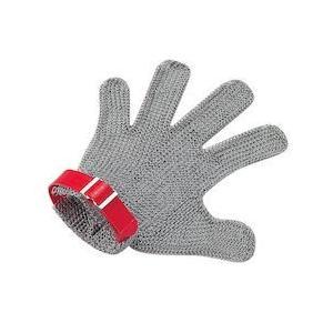 ニロフレックス メッシュ手袋5本指 LL5L-EF左手用(青)
