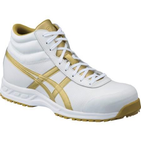 アシックス ウィンジョブ 71S ホワイト×ゴールド 26.0cm FFR71S.019426.0