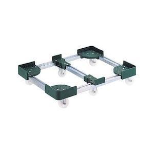 伸縮式コンテナ台車 内寸400-500X800-900 スチール製 TRUSCO FCD64080-8000