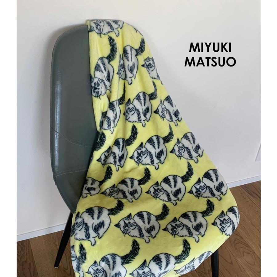 ブランケット Warm Blanket Cat 松尾ミユキ|n-marche