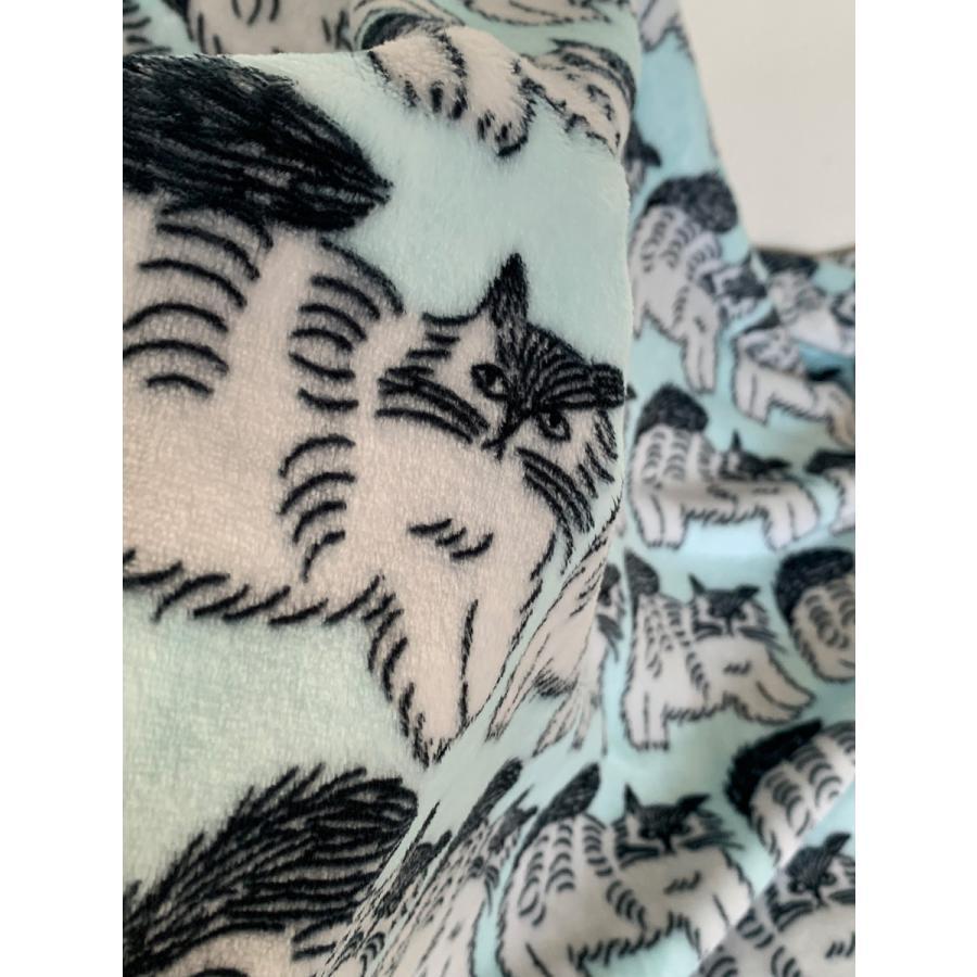ブランケット Warm Blanket Cat 松尾ミユキ|n-marche|04