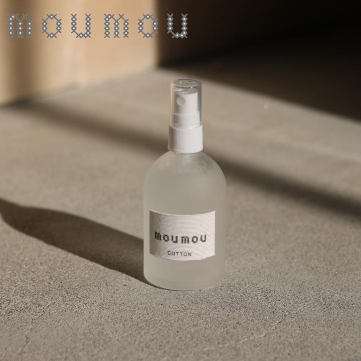 ( mou mou ピローミスト ) ムームー リネン コットン シルク ルームミスト 爽やか クローゼット 香り シンプル n-raffine