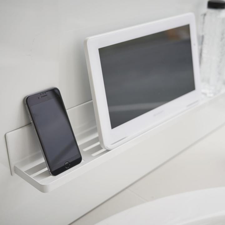 ( マグネット バスルーム ラック ロング タワー ) tower 大容量 ロング 収納 浴室 バス おもちゃ 整理 掃除 棚 磁石 ホワイト ブラック 白 黒|n-raffine|05