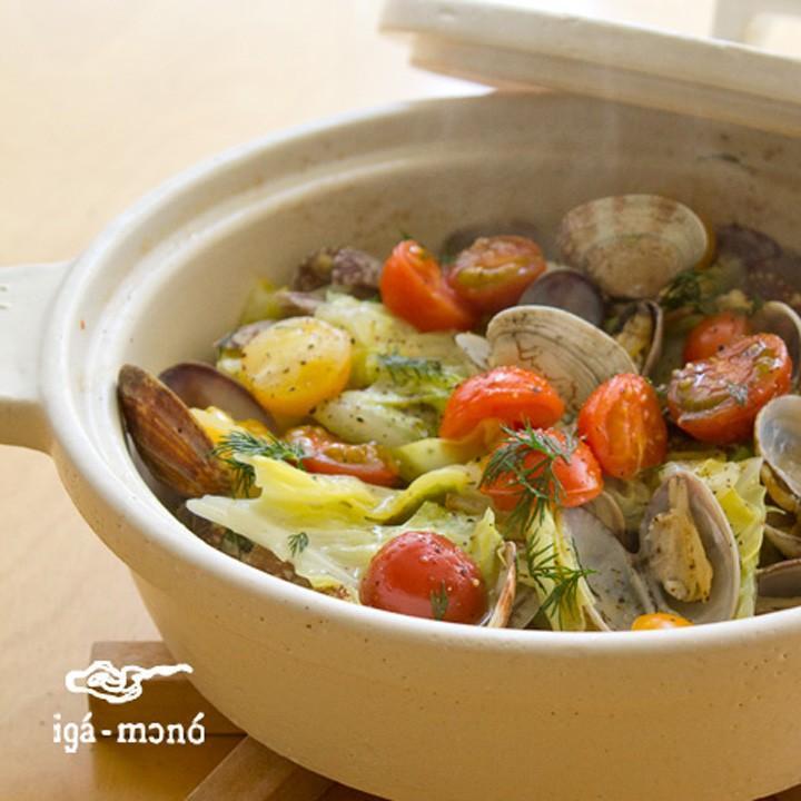 ( セール価格 ) ( ビストロ土鍋 ) 長谷園 伊賀焼 煮込む おしゃれ 土鍋 正規品|n-raffine|03
