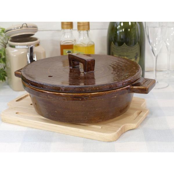 ( セール価格 ) ( ビストロ土鍋 ) 長谷園 伊賀焼 煮込む おしゃれ 土鍋 正規品|n-raffine|07