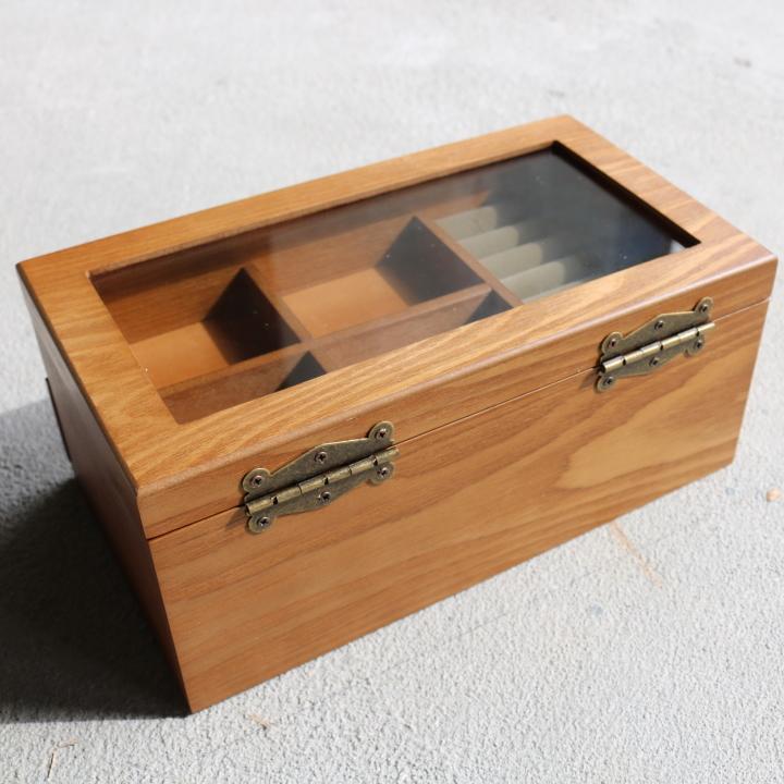 ( セール価格 ) ( ナチュラリー ジュエルボックス ) 木製 天然 木 ジュエリーアクセサリー ボックス  収納 ケース n-raffine 06