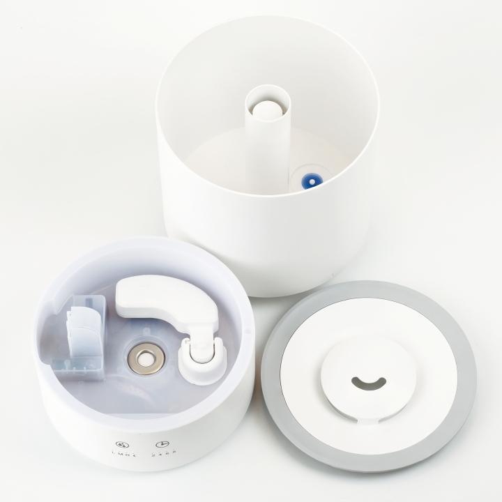 ( グリーンティーラボ ミスト 超音波 加湿器 ) kishima キシマ ウイルス 花粉症 花粉 予防 除菌 消臭 超音波式 4L 大容量 静音 上部給水 乾燥 おしゃれ シンプル|n-raffine|08