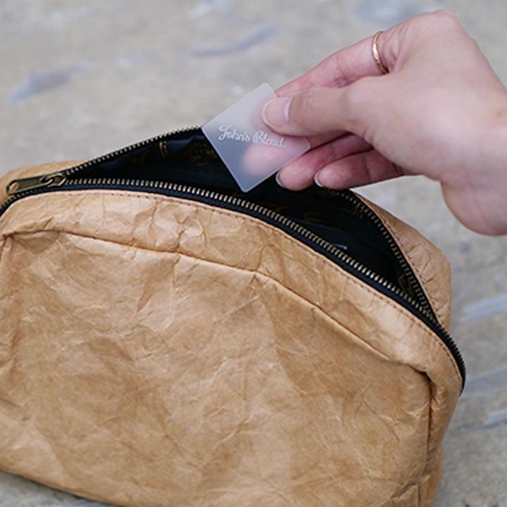 ( ジョンズブレンド アロマチケット ) John's Blend アロマチケット DM便 メール便 名刺 香りづけ 名刺ケース パスケース ポーチ 本|n-raffine|06