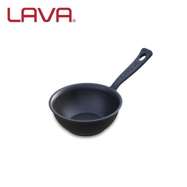 LAVA ソースポット 7cm ECO Black (エコブラック) IH対応 鋳鉄ホーロー LV07SP ラヴァ n-tools