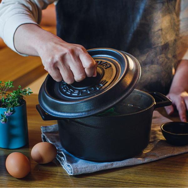 LAVA ホットサンドトースター 26cm ECO Black (エコブラック) IH対応 鋳鉄ホーロー LV26TS ラヴァ アウトドア 朝食 おやつ n-tools 14