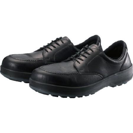 シモン 耐滑・軽量3層底静電紳士靴BS11静電靴 23.5cm BS11S235