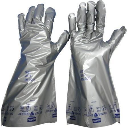 シルバーシールド手袋 (10双入) ノース SS104M-5061