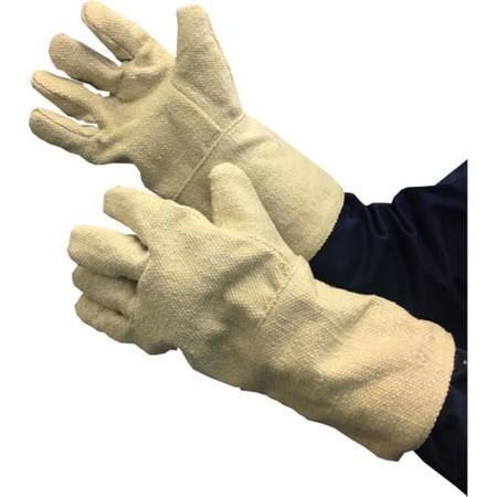 TRUSCO 生体溶解性セラミック耐熱手袋 5本指タイプ TCAT5A