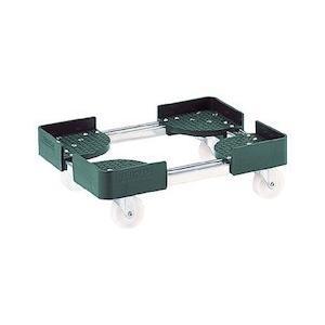伸縮式コンテナ台車 内寸300-400X400-500 SUS製 TRUSCO FCD3040SUS-8000