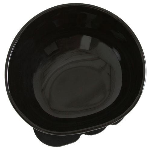 BUHIプレ ブラック 鼻ぺちゃわんこ専用食器 ブヒプレ W155xD177xH97mm|nachu