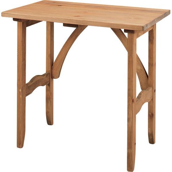 Foret フォレデスク 幅75cm 天然木 木製 無垢 机 ワーク PCデスク 書斎机 カントリー おしゃれ 人気 おすすめ