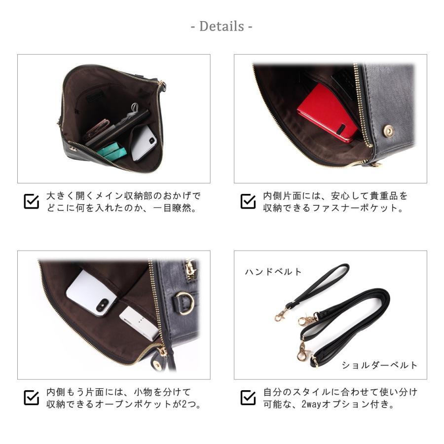 クラッチバッグ メンズ セカンドバッグ A4 2way レザー uybag03|nact|05