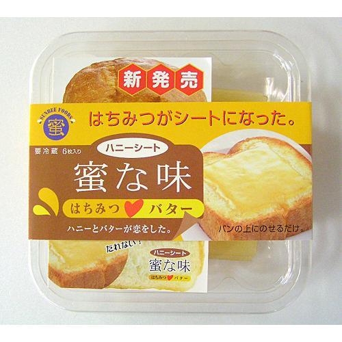 ハニーシート 蜜な味 6枚/パック×5 − サンビーフーズ nadja