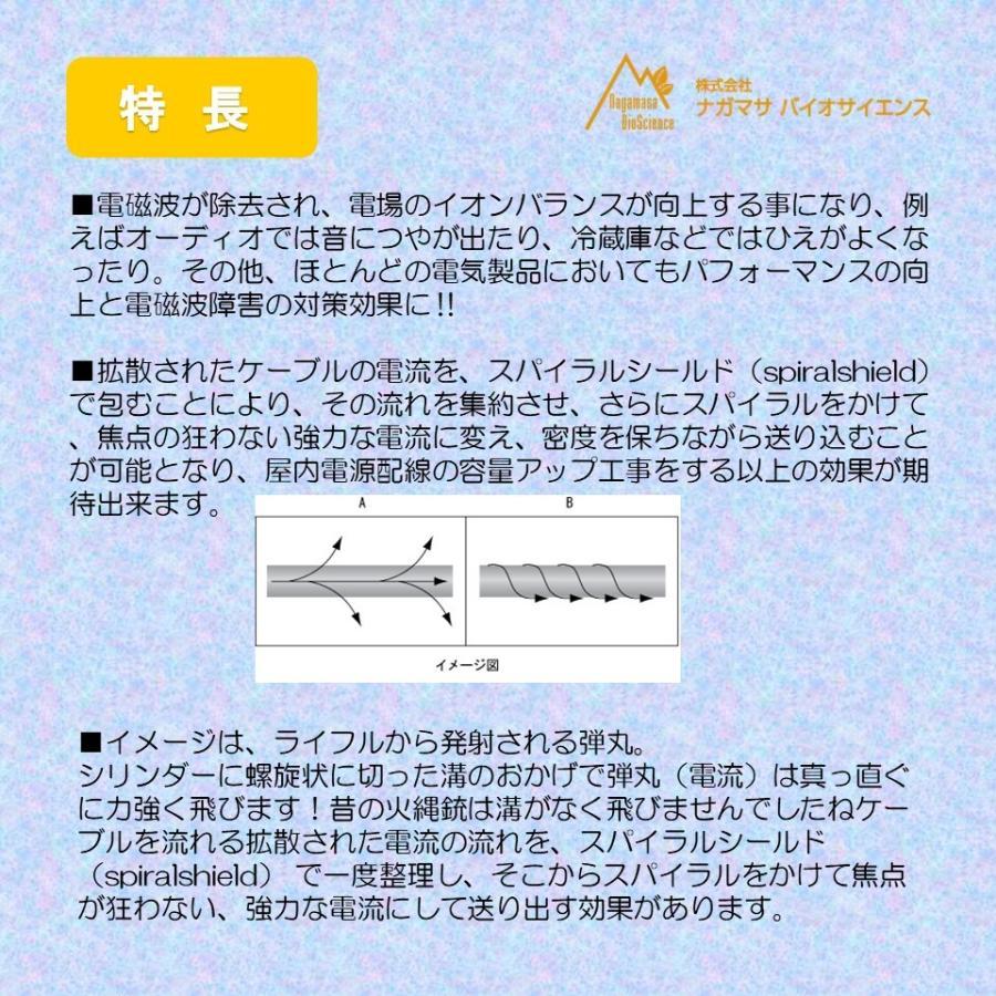 電磁波対策 スパイラルシールド |nagamasabaio|02