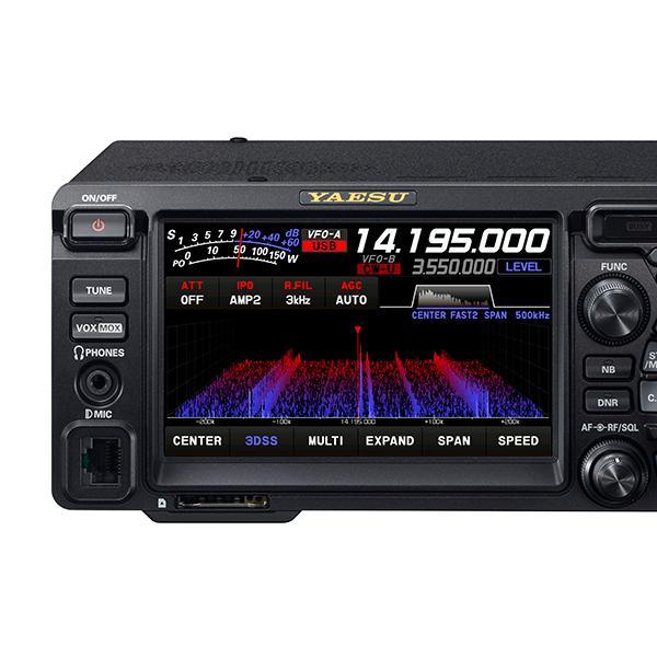 FTDX10 ヤエス HF/50MHz100W抜群の受信性能 nagano-hamcenter 03