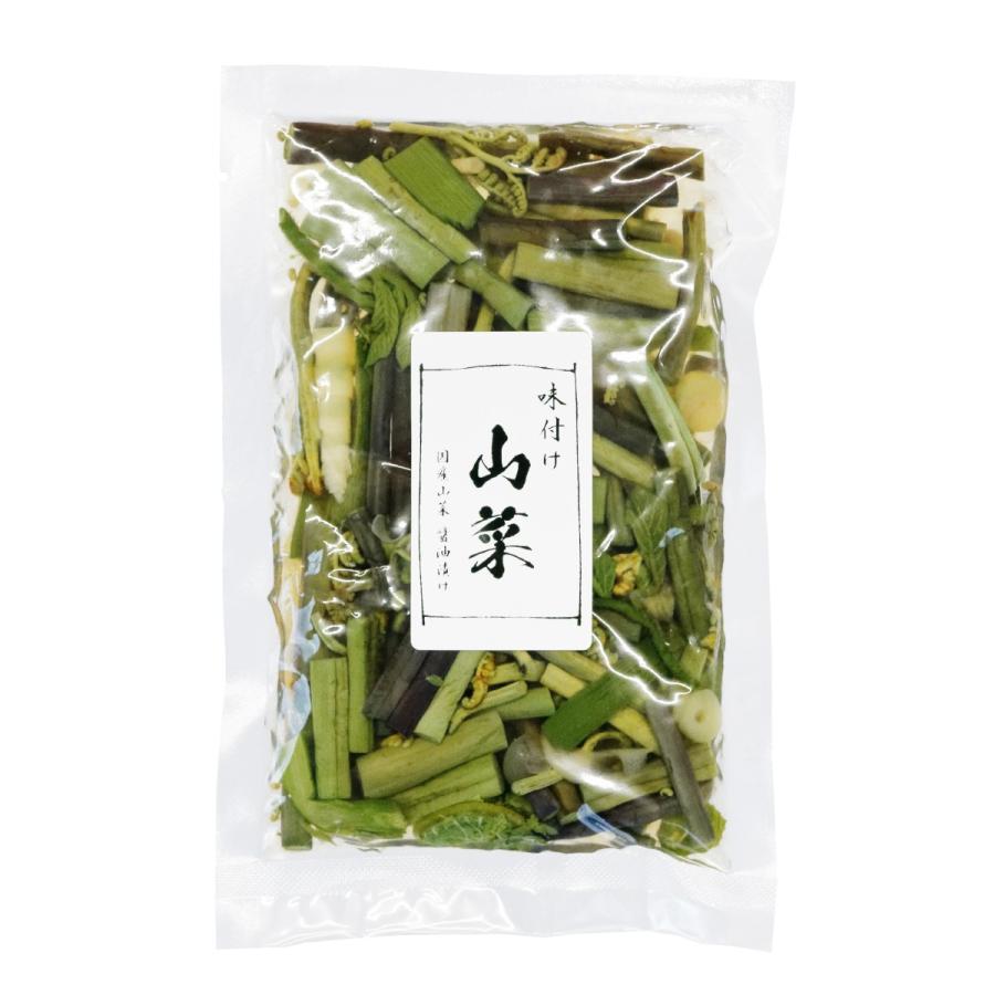 国産山菜醤油漬け ZO-231 味付け山菜|nagaoka-kojimaya