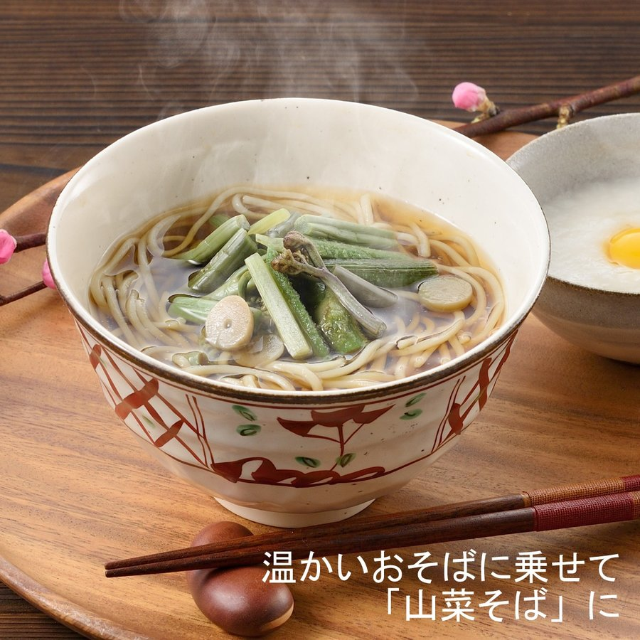 国産山菜醤油漬け ZO-231 味付け山菜|nagaoka-kojimaya|03