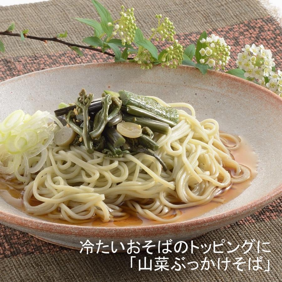 国産山菜醤油漬け ZO-231 味付け山菜|nagaoka-kojimaya|04