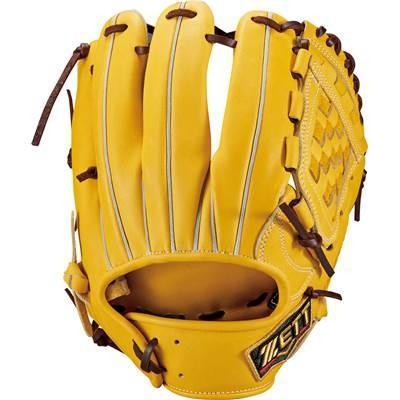 プロステイタス 硬式グローブ 野球 硬式 内野手 源田モデル BPROG560(Tイエロー×ブラウン) 右投げ 高校野球対応